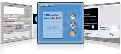 Cucusoft Video+DVD to iPod Converter Screenshot