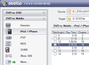 DVDFab DVD Ripper Screenshot